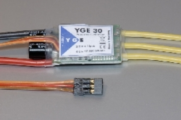 YGE 30 Brushless Regler